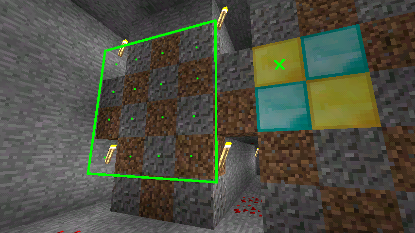 Minecraft Mining For Diamonds Retro Game Demos